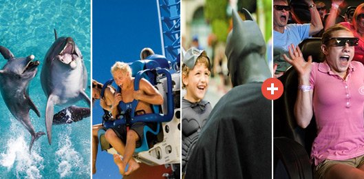 Gold Coast's 3 for 3 Theme Parks Ultimate Pass