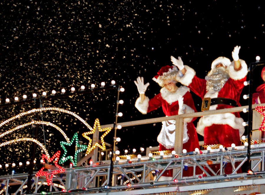 Experience Christmas in Surfers Paradise