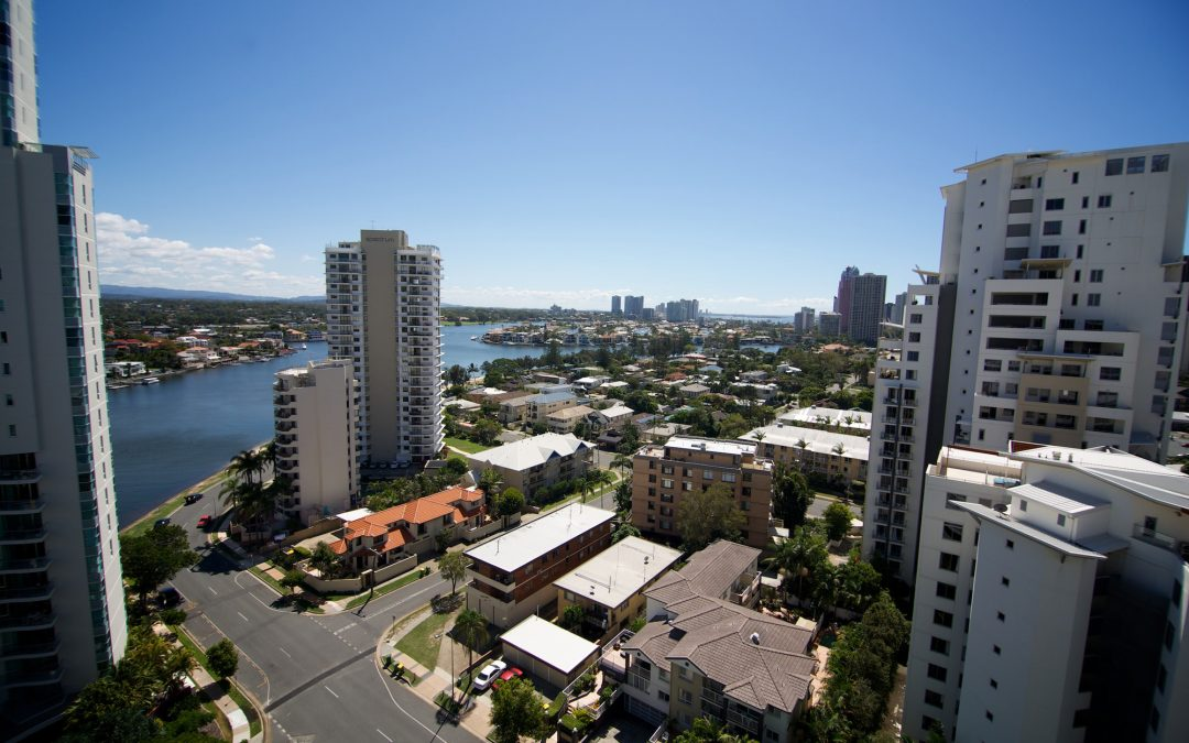 Enjoy glorious views of the Nerang River and Surfers Paradise